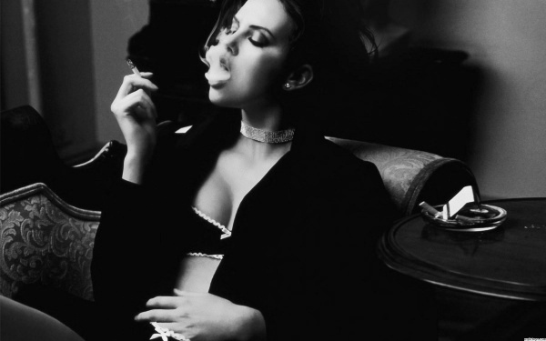 Smoking Woman
